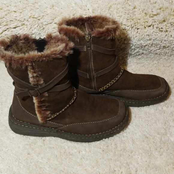 7ae260a9683ad Cabela's leather & shearling warm winter boots